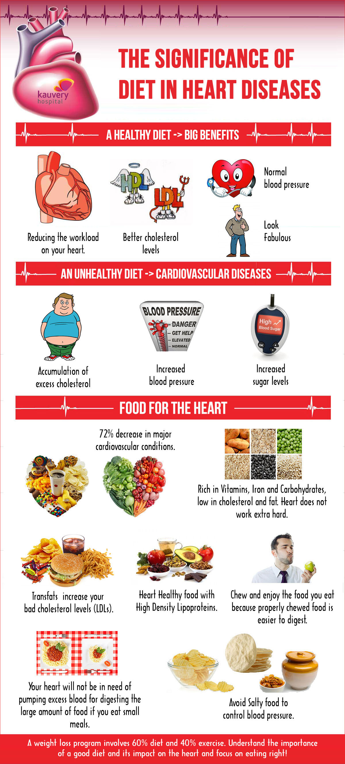 The Significance Of Diet In Heart Diseases
