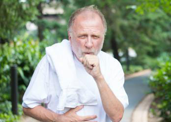 Relationship between the stomach and coughing