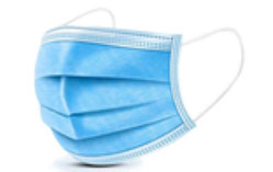 Single-layer face mask