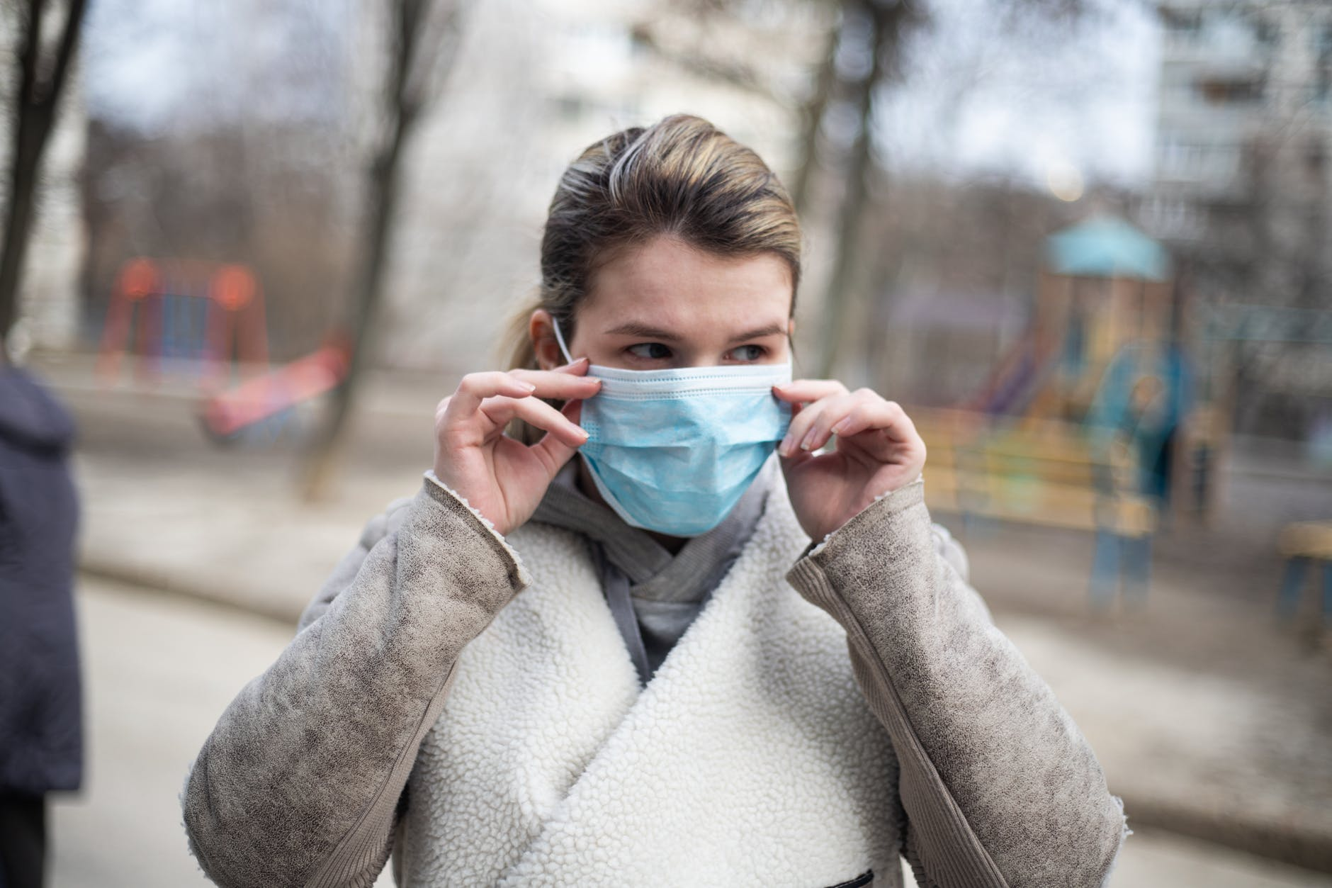 Wearing a Mask during the pandemic