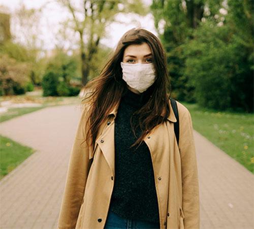 Face masks, vision, and risk of falls