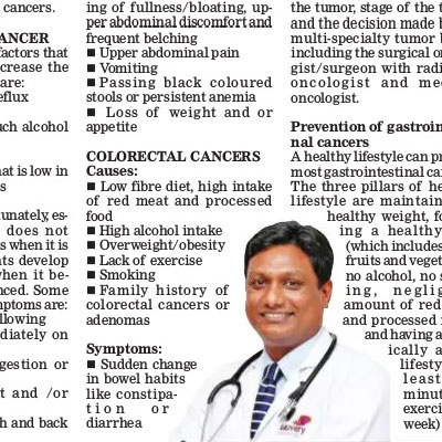 Doctor Speaks: Decoding causes and symptoms of gastrointestinal cancers - The New Indian Express News