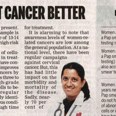 Screen earlier, fight cancer better - The New Indian Express News