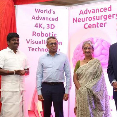 Kauvery Hospital launches advanced robotic technology aid neurosurgery - The News Minute News