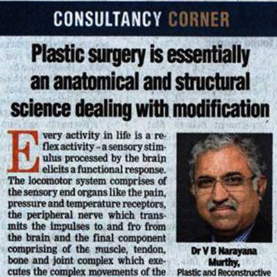 Plastic surgery is essentially an anatomical and structural science dealing with modification - DT Next News