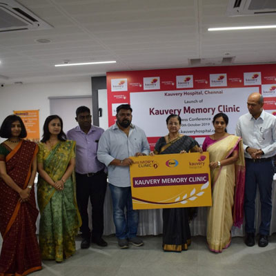 Kauvery Hospital Launches Chennai�s First Memory Clinic - SLS Online News