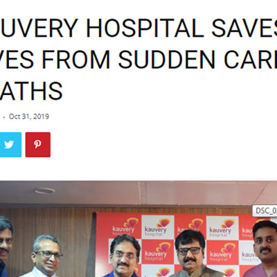 Launch of the Sudden Cardiac Death Prevention Program  -  Chennai City News