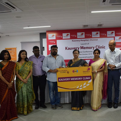 Kauvery Hospital Launches Chennai�s First Memory Clinic - Hot News Express