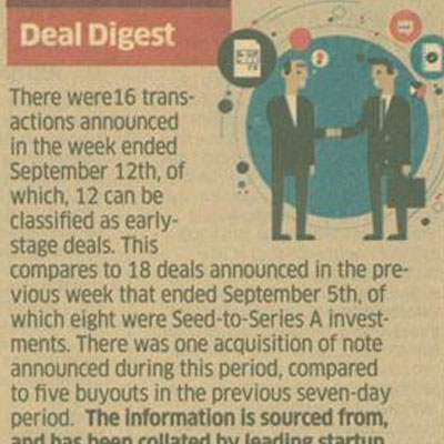 Deal Digest - The Economic Times