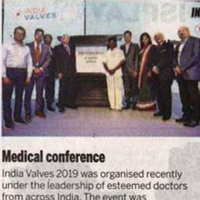INDIA VALVES 2019: India's largest TAVR meeting held at Chennai - The New Indian Express News