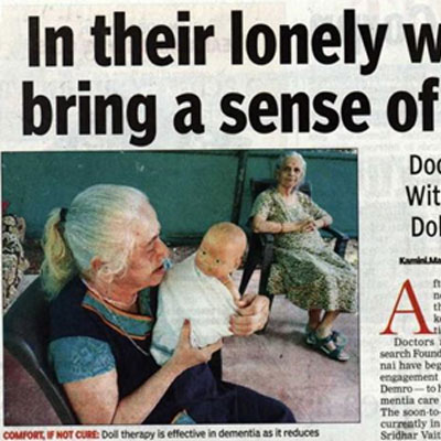 In their lonely world dolls bring a sense of belonging - The Times of India News