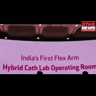 Launch of India's Flex-Arm Hybrid Cath Lab Operating Room at Kauvery Hospital Chennai - Starnews TV