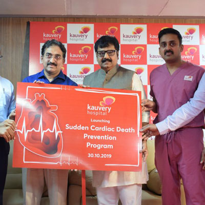 Launch of the Sudden Cardiac Death Prevention Program