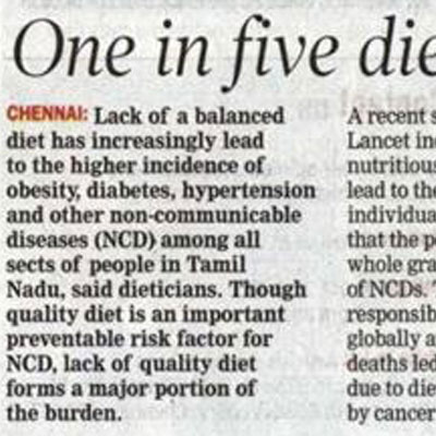 One in five dies due to lack of nutritious food reveals Lancet study - DT Next