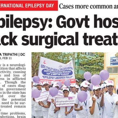 Rally for awareness on Epilepsy - Deccan Chronicle