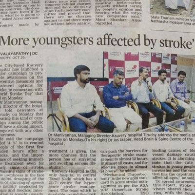 More youngsters affected by stroke - Deccan Chronicle