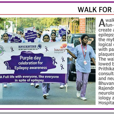 Walk for a Cause - Deccan Chronicle