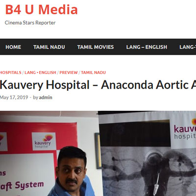 Anaconda Aortic Anuerysm - B4U Media