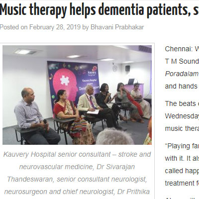 Music therapy helps dementia patients - News Today