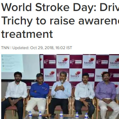 World Stroke Day - Times of India