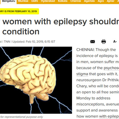 Why women with epilepsy shouldn't hide condition - Times of India
