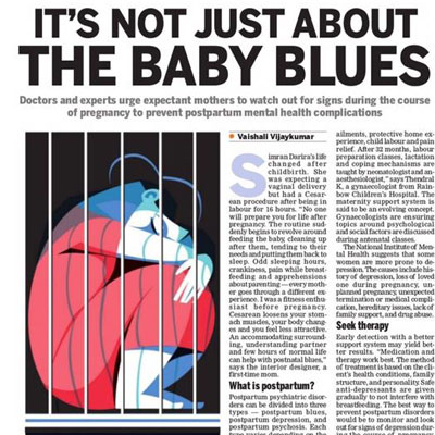 It's not-just-about-the-baby blues - The Times of India