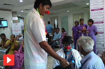 In Chennai Hospitals, Clowns Are Now Bringing Chee...