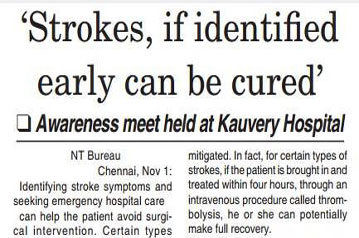 Awareness Meet on Stroke