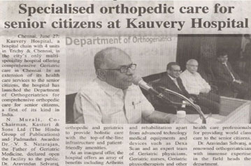 Specialised Orthopedic Care For Senior Citizens At...